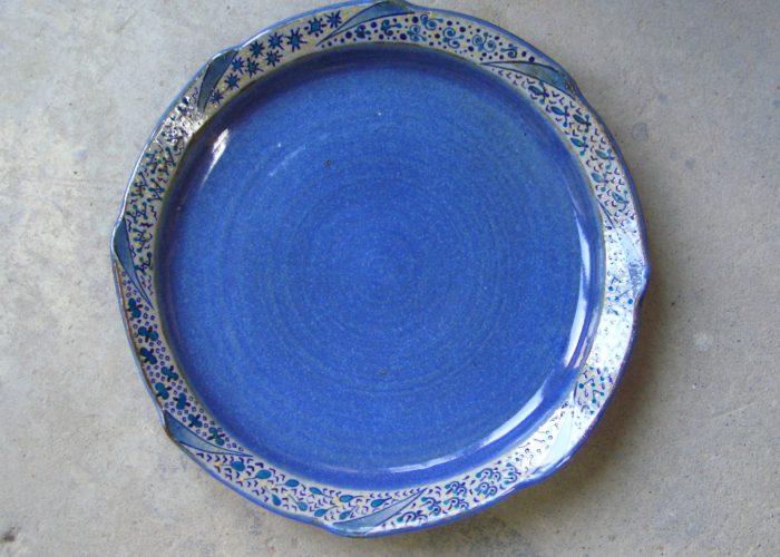 plate お皿 上絵付け toboagini tomoko harigai